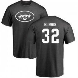 Men's Juston Burris New York Jets One Color T-Shirt - Ash